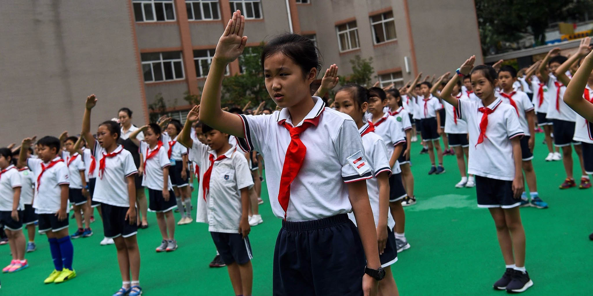 Ensino | Escolas internacionais já integram hino nacional chinês nos planos de estudo