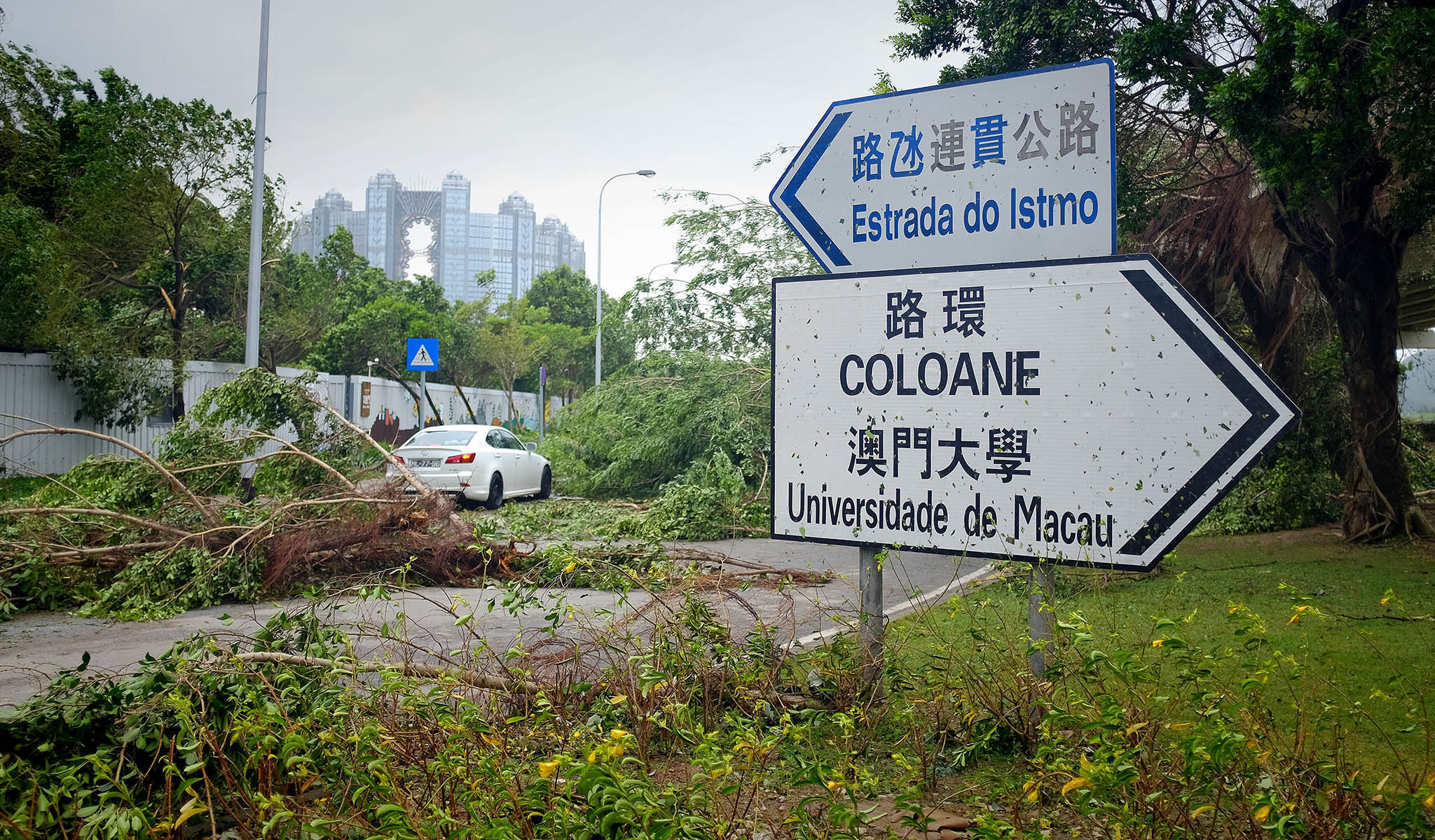 Associação denuncia atraso nas obras contra inundações em Coloane
