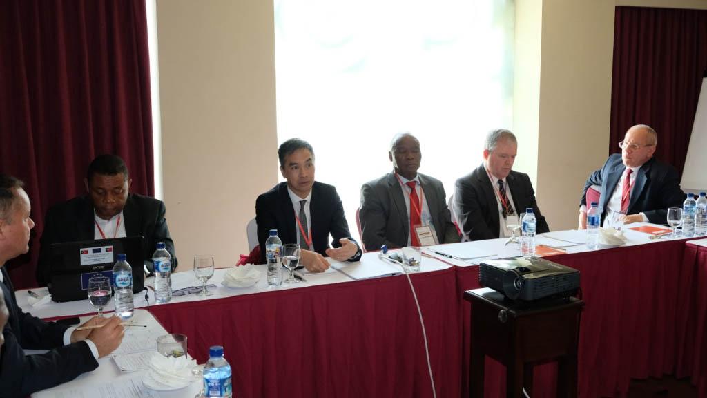 Comissariado de Auditoria em encontro da Organização das Instituições Superiores de Controlo da CPLP