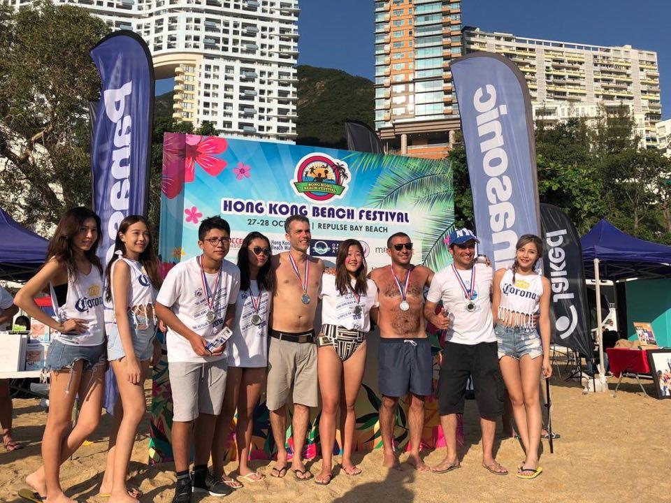Pólo-aquático   Fishballs de Macau participaram em torneio de Hong Kong