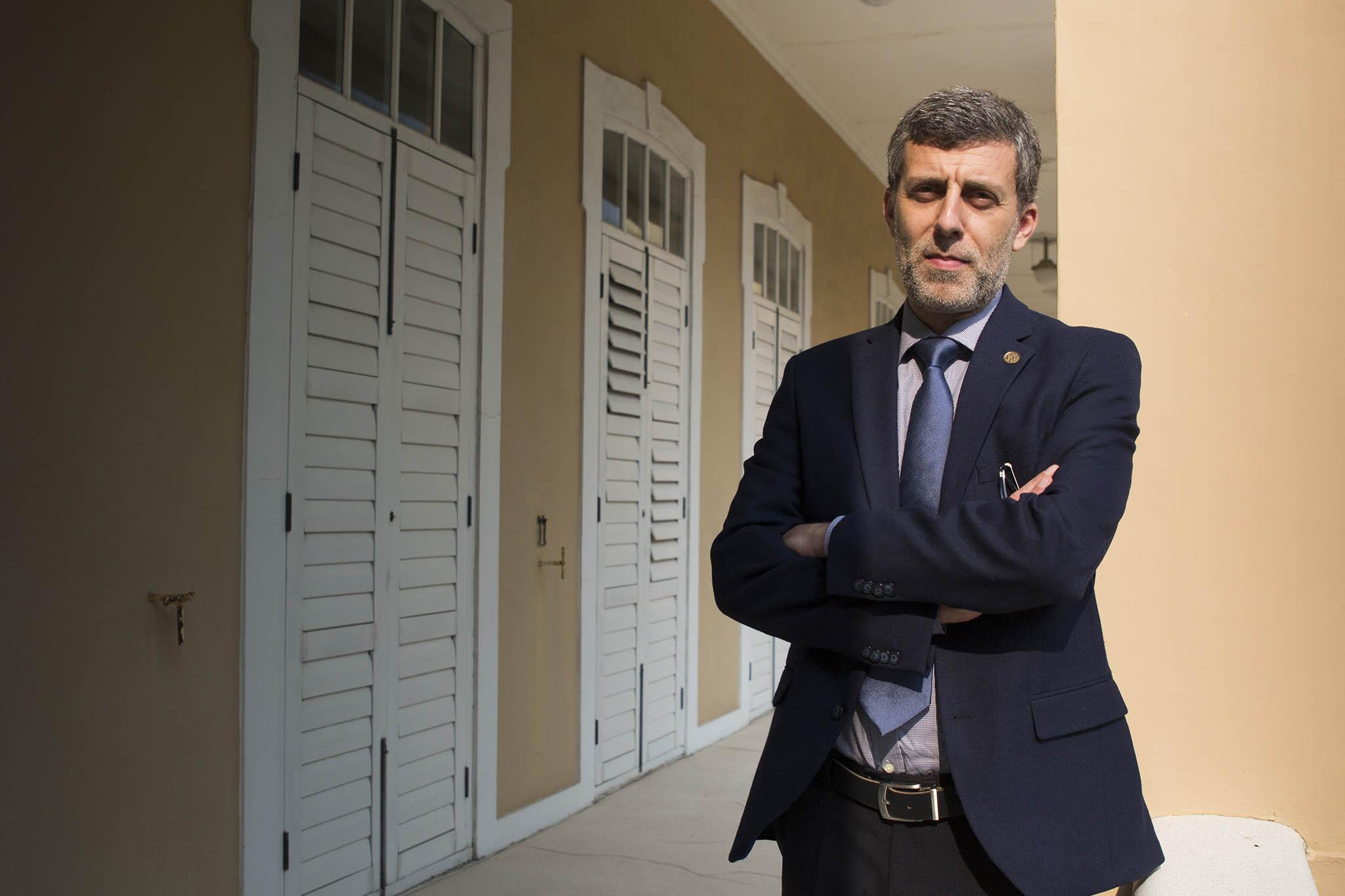 """Joaquim Coelho Ramos, director do Instituto Português do Oriente:""""Nunca fechamos portas"""""""