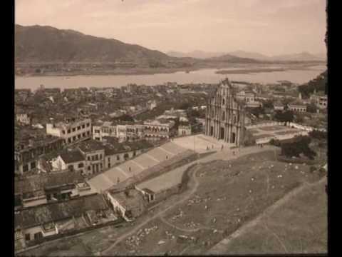 Macau antigo em 1960
