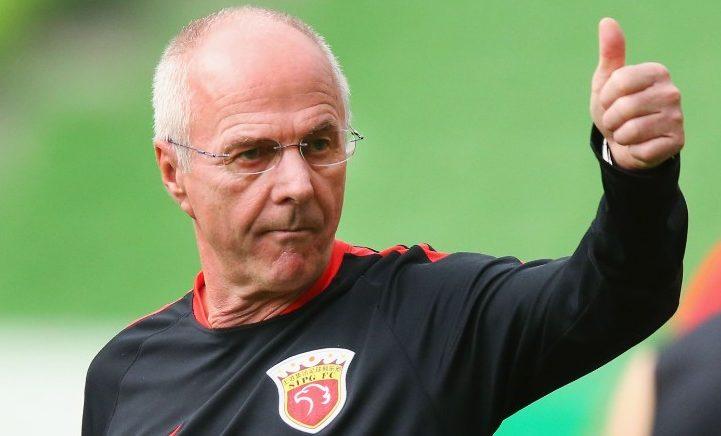 Sven-Goran Eriksson é o novo treinador da selecção das Filipinas