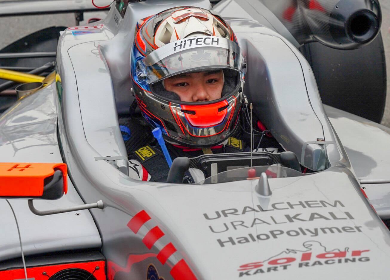 Charles Leong finaliza Campeonato Asiático de F3 no 4.º lugar