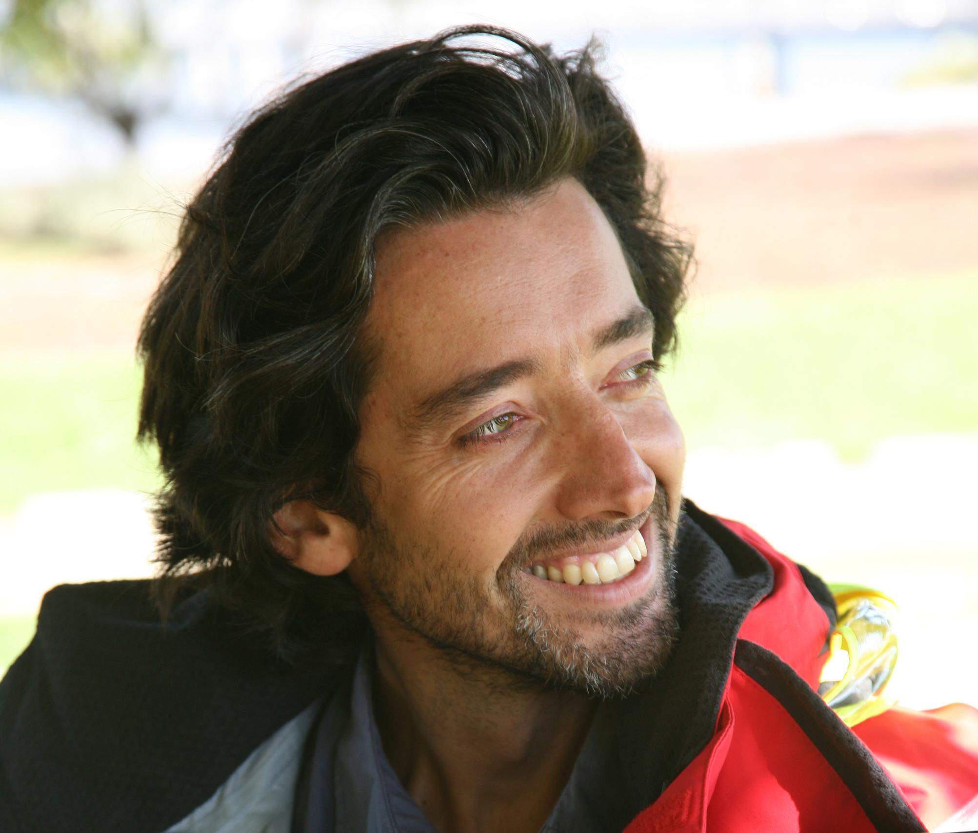 """Ricardo Diniz, velejador e orador internacional: """"Tenho sempre medo do mar"""""""
