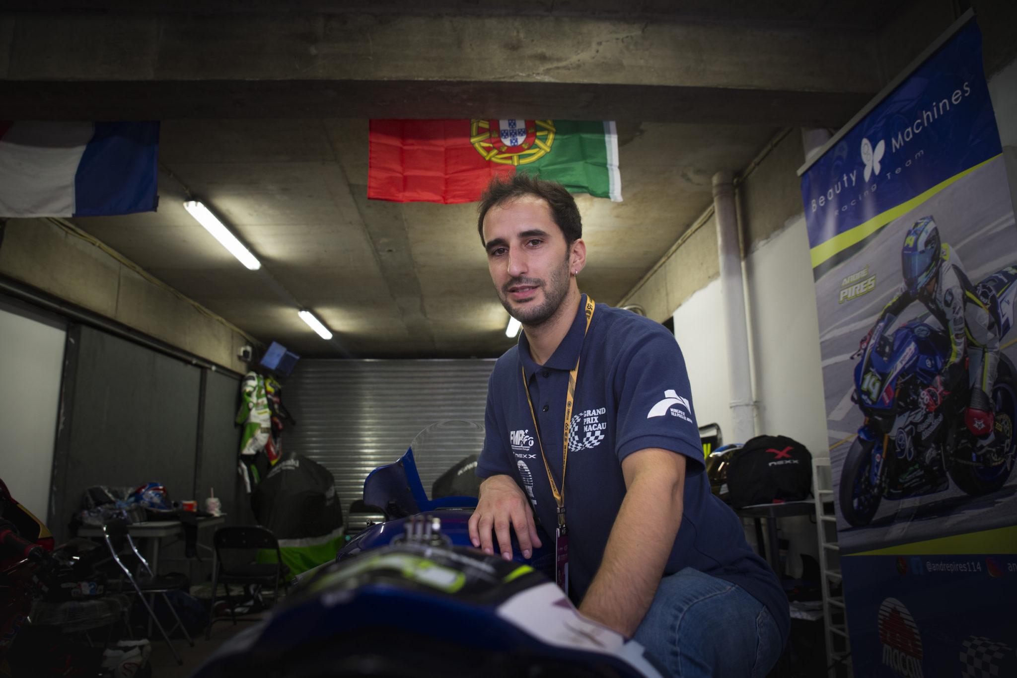 André Pires já tem o convite para GP Macau 2020
