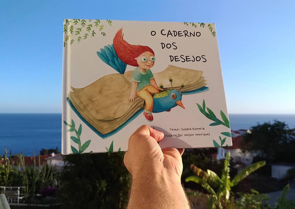"""""""O Caderno dos Desejos"""" vai ser apresentado sexta-feira na Livraria Portuguesa"""