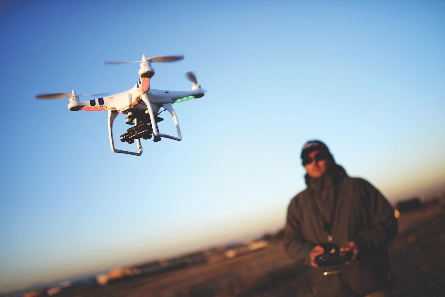 Drones e questões de segurança