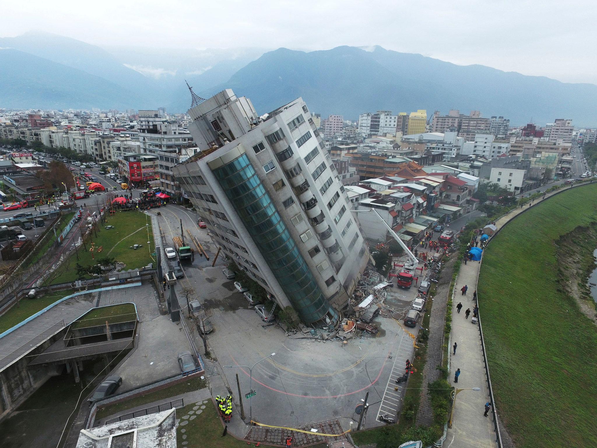 Sismo de magnitude 5,7 em Taiwan sentido em Macau e Hong Kong