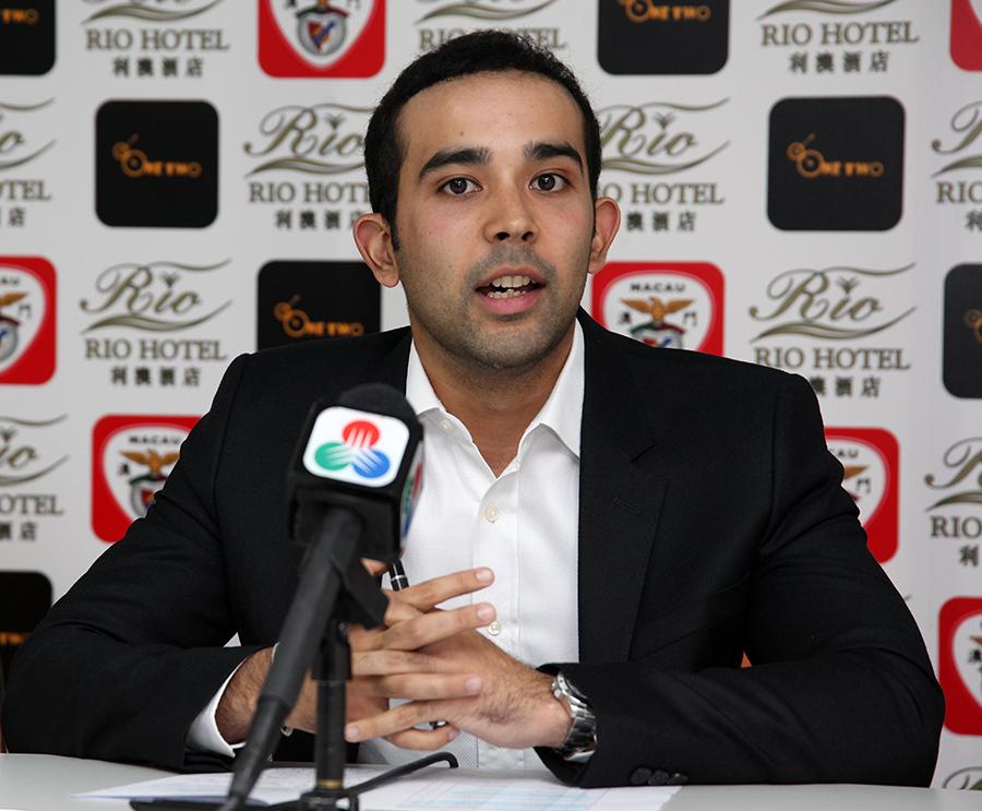 """Benfica de Macau   Duarte Alves diz que futebol local """"não vale a pena"""""""