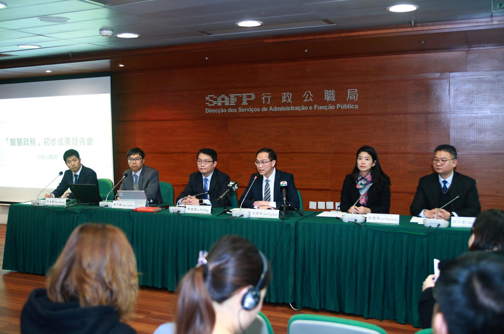Função Pública | Chui Sai On pede continuação dos trabalhos com Ho Iat Seng