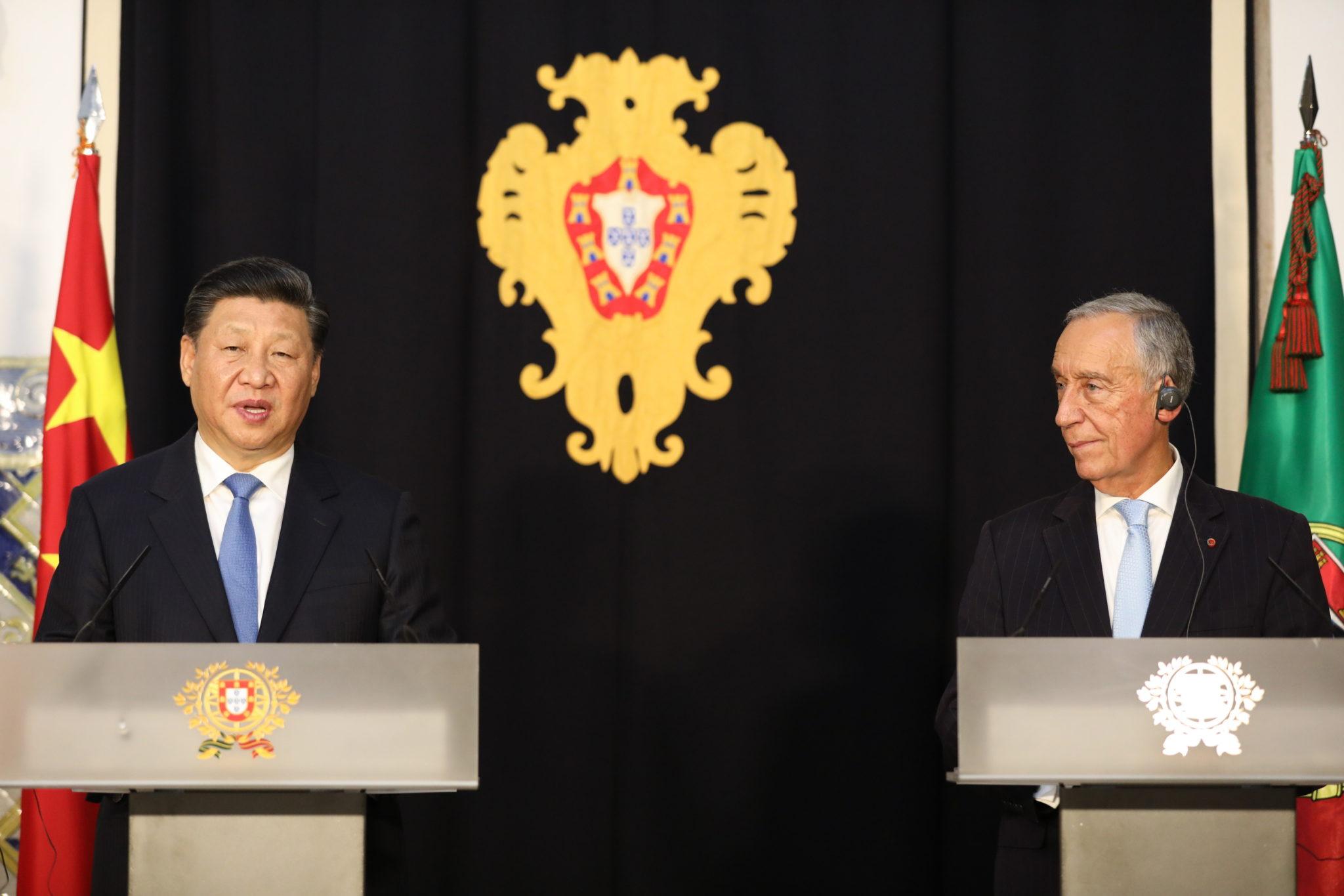 """Líderes chineses querem """"dar mais força"""" ao Fórum Macau, diz Marcelo"""