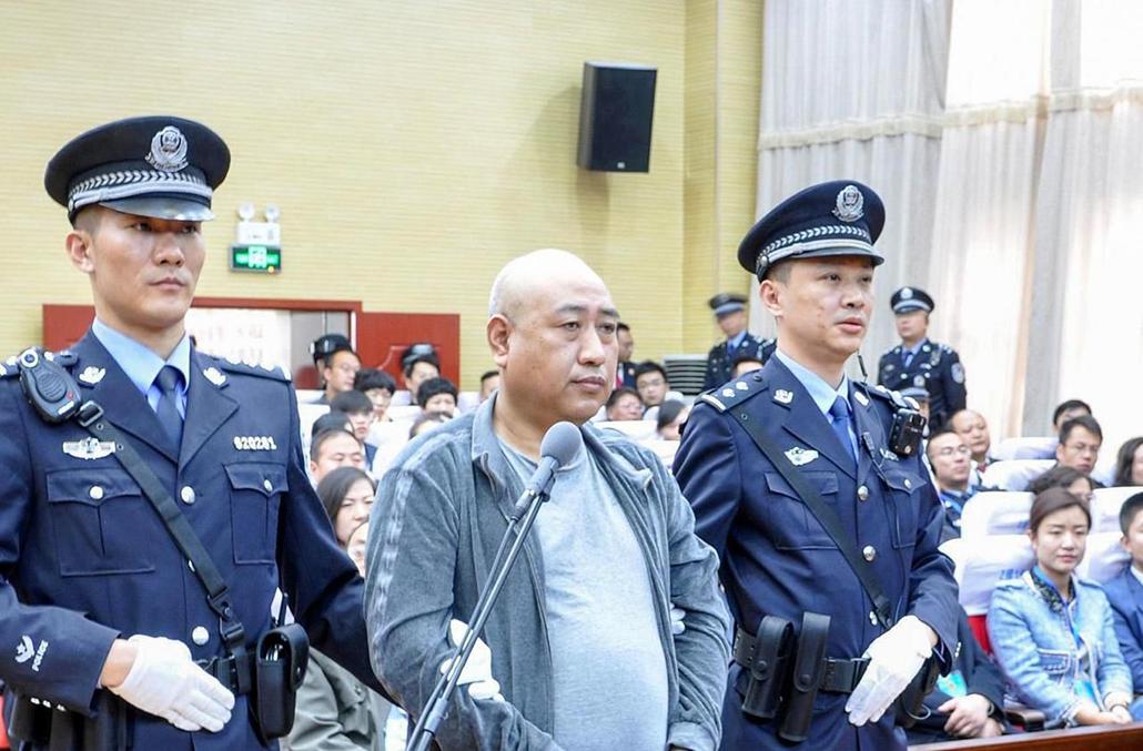 """""""Jack, o Estripador"""" chinês foi executado"""