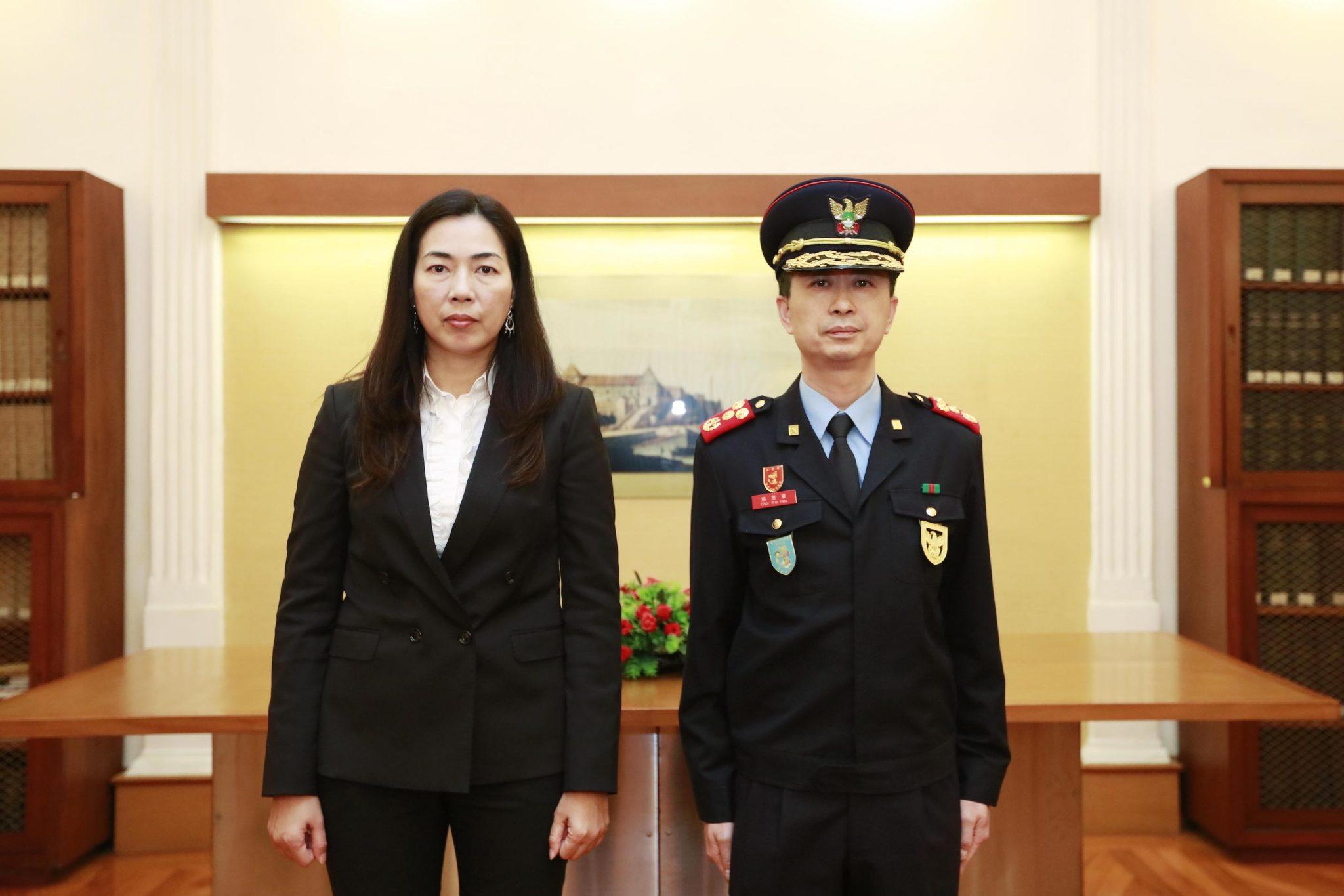 Choi Wai Hou é o novo subdirector das Forças de Segurança