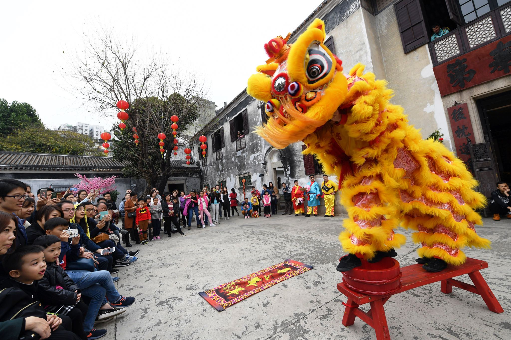 Ano Novo Lunar celebrado com música, workshops e exposições