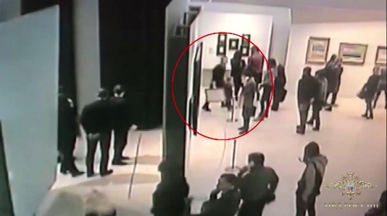 Apanhado suspeito de roubar quadro em Moscovo