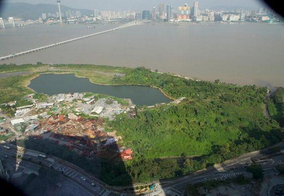 """Novo Macau entrega petição na AL sobre reversão """"tardia"""" do terreno do """"Parque Oceanis"""""""