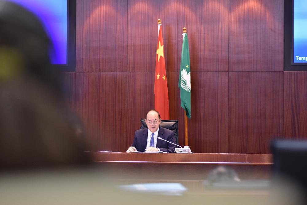 Ho Iat Seng apresenta Linhas de Acção Governativa na segunda-feira