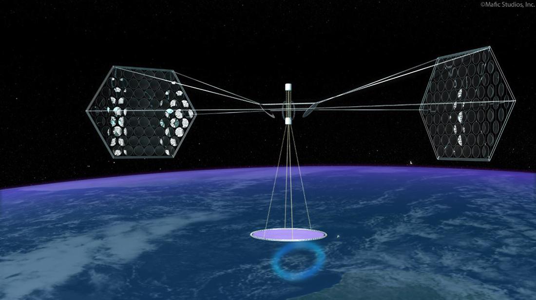 Espaço |Criação de central de energia solar em estudo