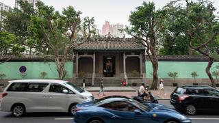 Património   Obras ilegais no Templo Kun Iam Tong continuam