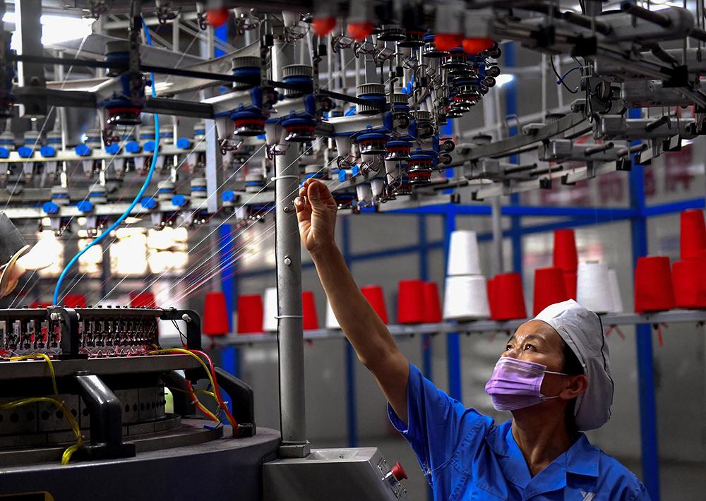 Actividade industrial na China desacelera em Novembro