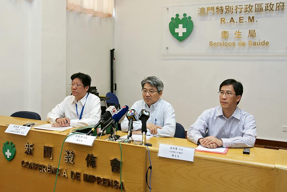 Saúde | Lei Chin Ion avisa que uso de vales na China contraria objectivos