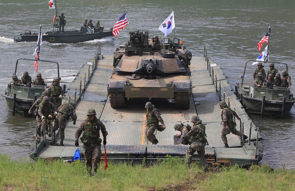 Defesa   Washington e Seul acabam com grandes manobras militares conjuntas