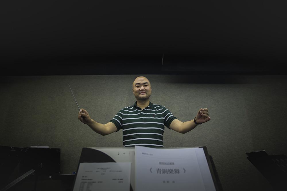 """Liu Sha, maestro e director musical da Orquestra Chinesa de Macau: """"A música é emoção e paixão"""""""