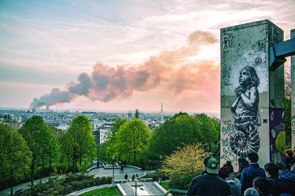 Paris   Mundo em choque perante o incêndio na catedral de Notre-Dame