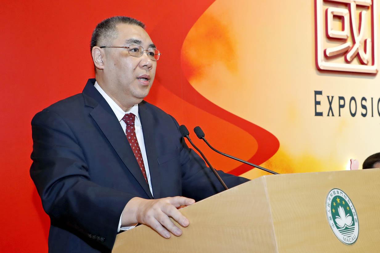 Segurança | Chui sublinha reforço legal para defender autoridade de Pequim
