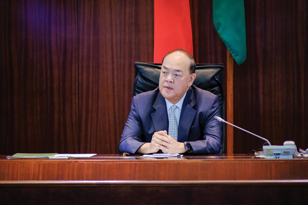 Eleições   Candidatura obriga Ho Iat Seng a abdicar de lugar no Colégio Eleitoral