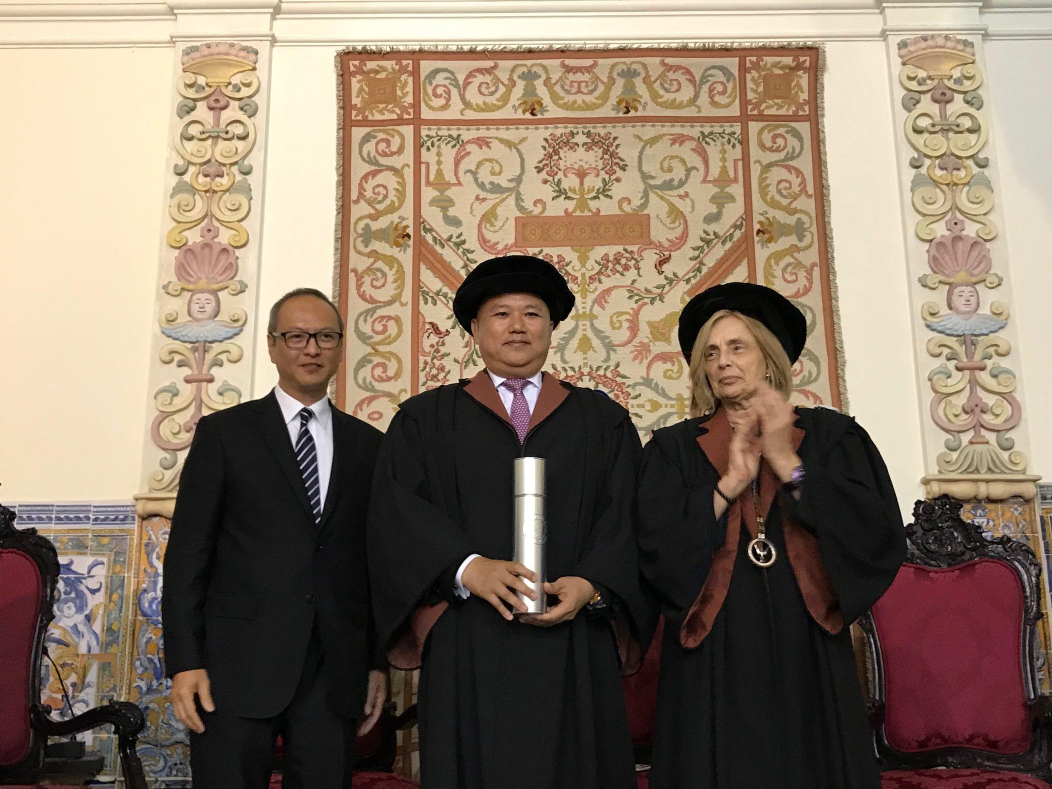 Chan Meng Kam quer abrir cursos de português em Hengqin