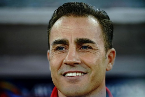 Italiano Fabio Cannavaro deixa o cargo de seleccionador da China após dois jogos