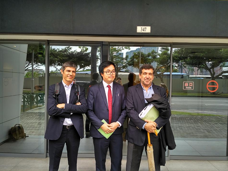 Advogados impedidos de exercer direito de defesa de Scott Chiang