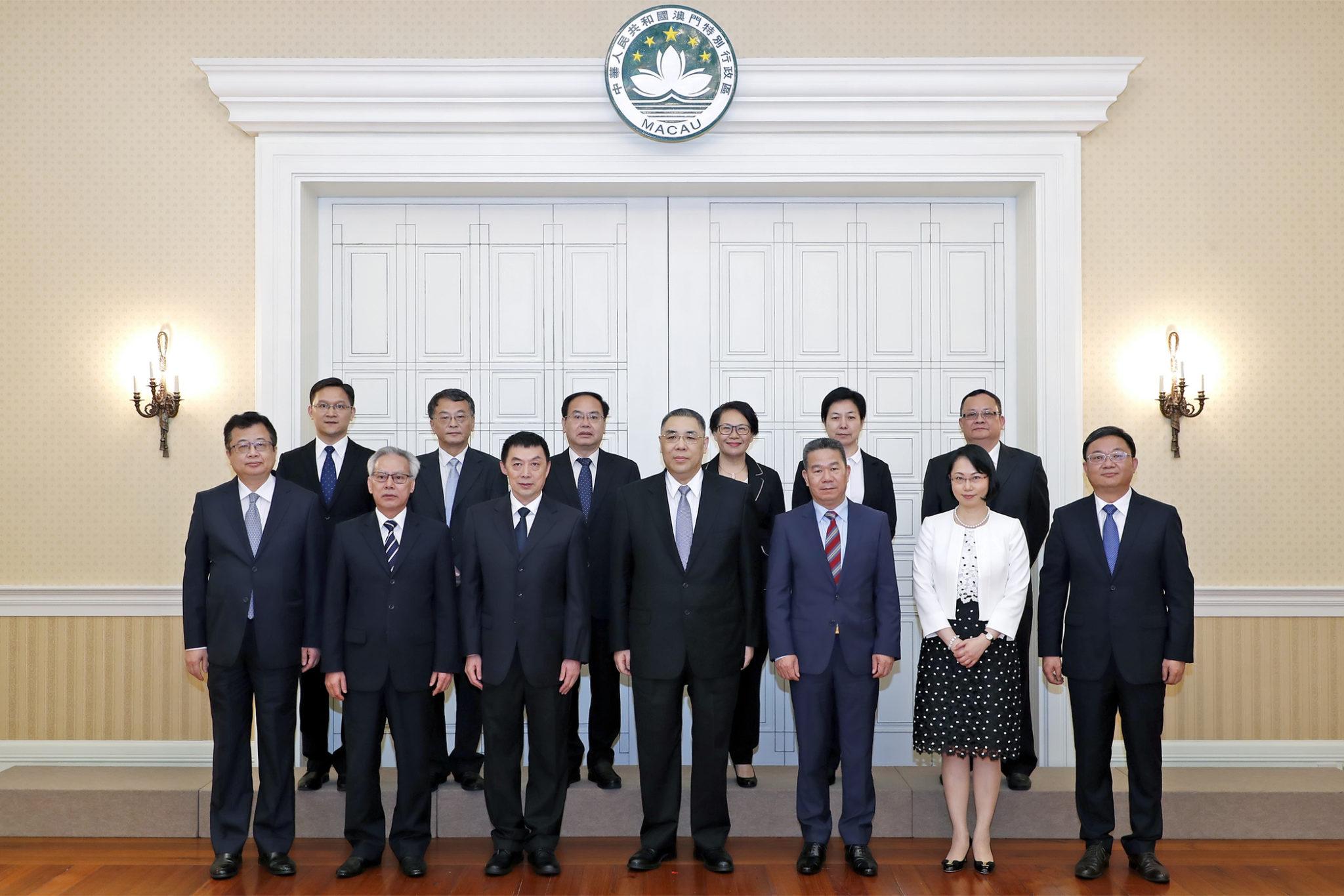 Justiça | Chefe do Executivo reuniu com presidente de tribunal de Guangdong