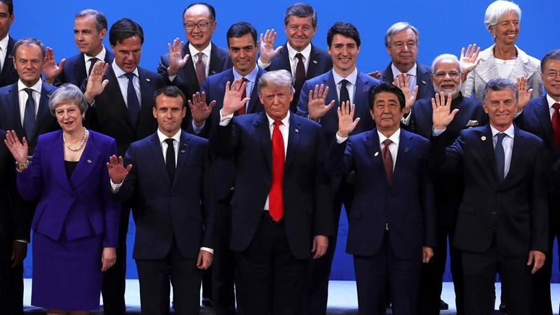 Cimeira do G20 termina com apoio ao comércio livre e crescimento económico