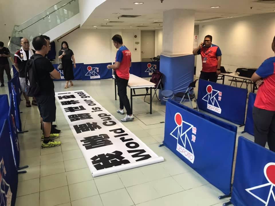 Futebol | Governo impediu entrada de faixa no Estádio de Macau