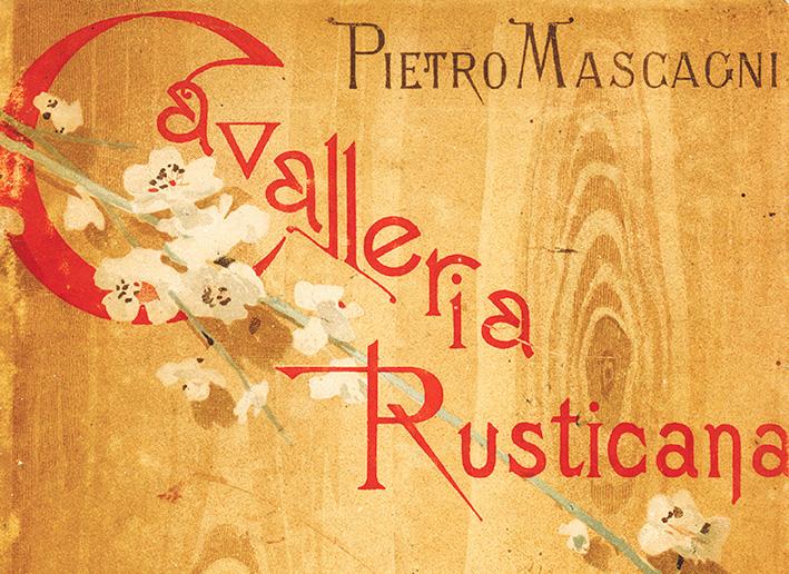 Cavalleria rusticana: a ópera-prima de Mascagni