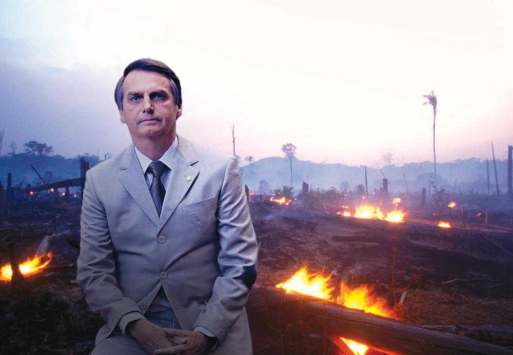 Brasil | Número de incêndios dispara este ano, com especial foco na Amazónia