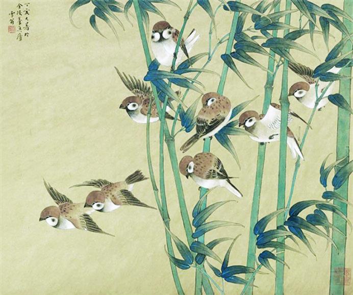 Obras de Chen Zhifo do Museu de Nanjing inaugura amanhã