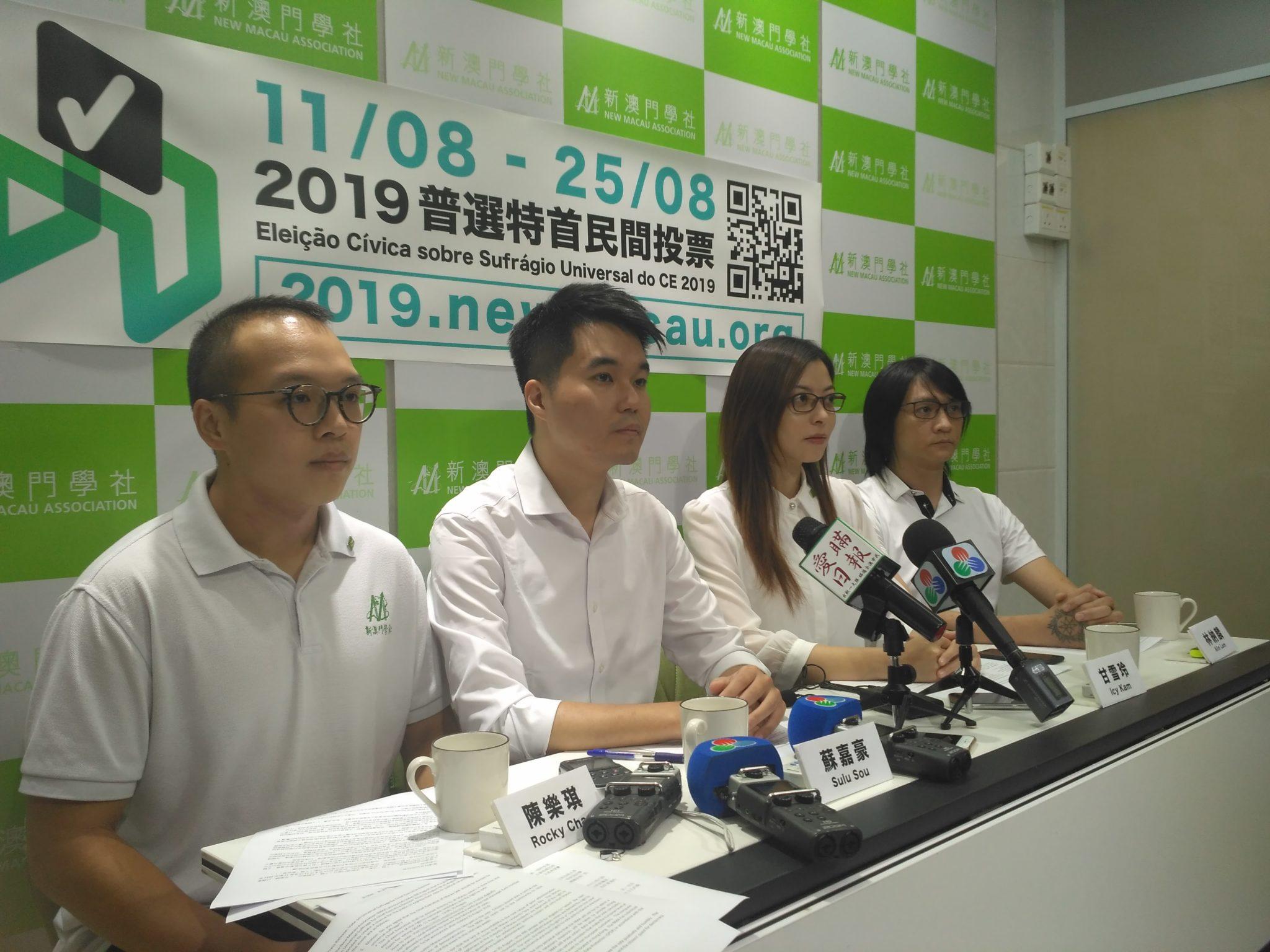 Associação Novo Macau diz ter sido vítima de ameaças e perseguições