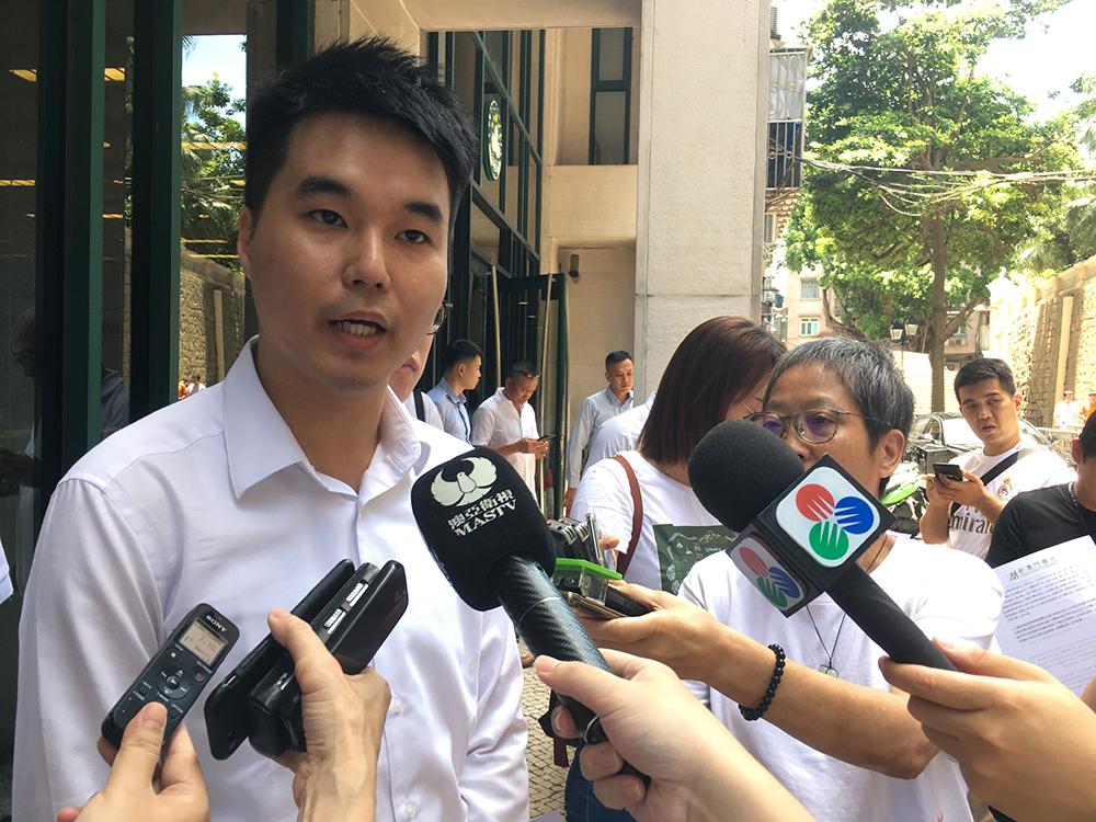 Sulu Sou defende suspensão do intercâmbio de professores do Interior da China