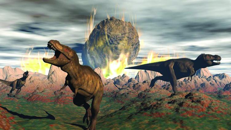 As alterações climáticas e as extinções em massa