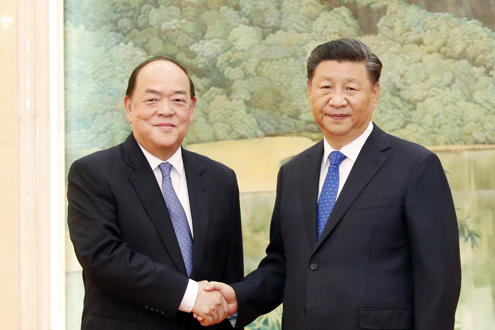 Ho Iat Seng e titulares de altos cargos receberam formação em Pequim