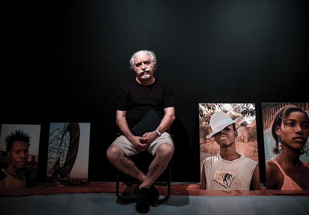 Albano Silva Pereira, fotógrafo, curador e director do Centro de Artes Visuais