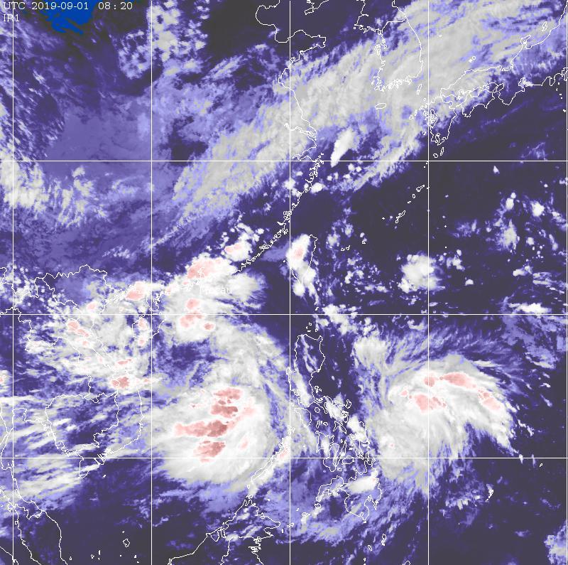 Sinal de tempestade tropical baixou de 3 para 1 às 13h00