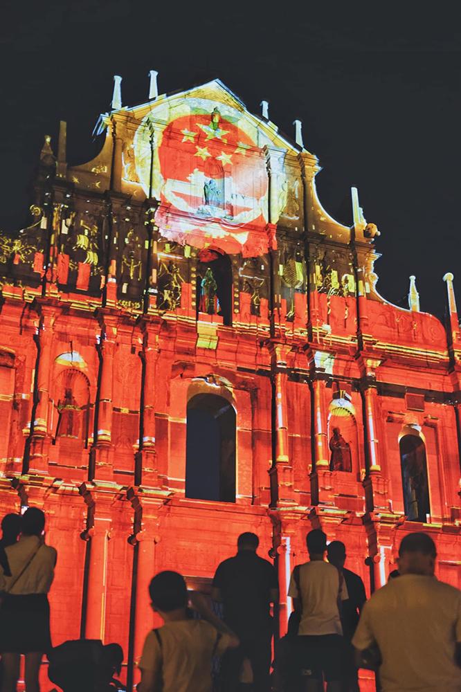 Ruínas de São Paulo   Diocese de Macau tomou posição sobre espectáculo