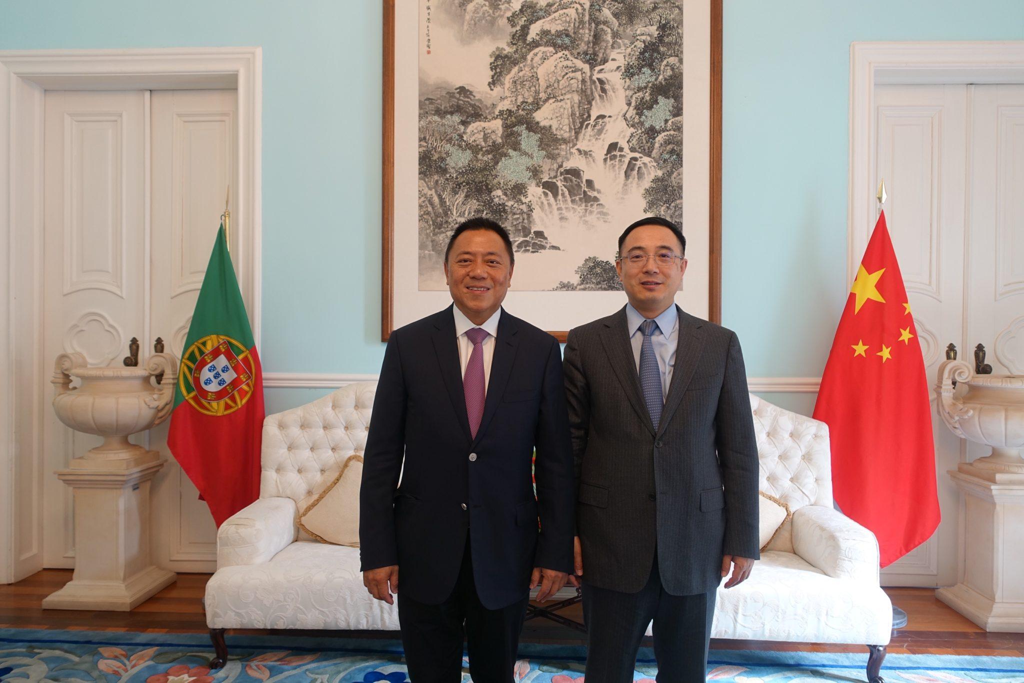 Economia | Lionel Leong reuniu com governantes portugueses e AICEP