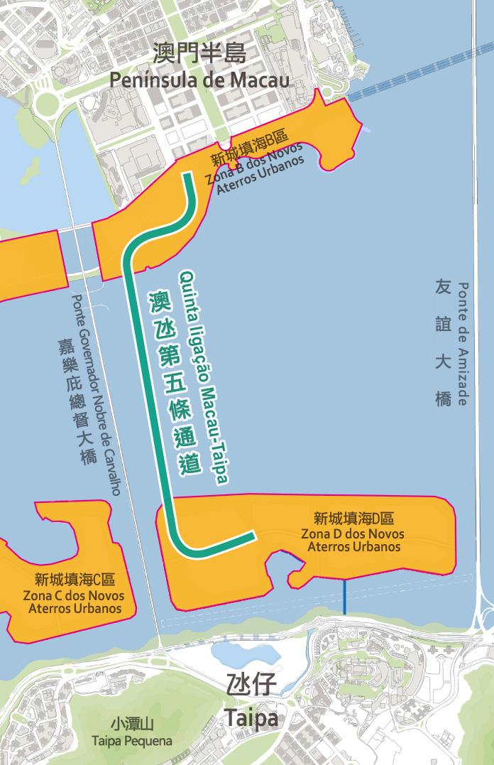 Quinta ponte Macau-Taipa | Nova consulta pública até 5 de Novembro