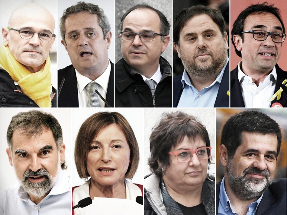 Catalunha | Políticos independentistas condenados a penas exemplares